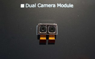 Closer look of the dual cam module and the Fusion ISP