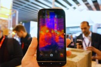 The thermal camera sees what the naked eye can't - Cat S61 hands-on reivew