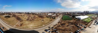 Panoramic image from Mavic Air