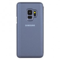 Galaxy S9 Clear View Stand cases: Blue