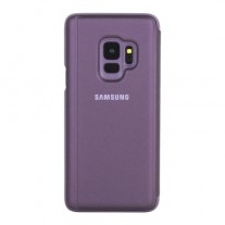 Galaxy S9 Clear View Stand cases: Purple