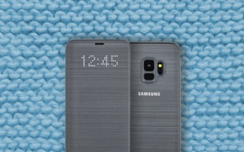 Official Galaxy S9 cases now available, including a cloth Clear View case