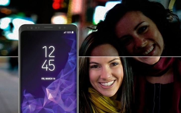 "Samsung Galaxy S9+ will allegedly use a 1/2.55"" IMX345 sensor"