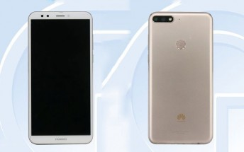 """6"""" Huawei Enjoy 8 with dual camera surfaces"""