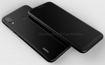 Huawei P11/P20 lite renders reveal an iPhone X-like dual camera