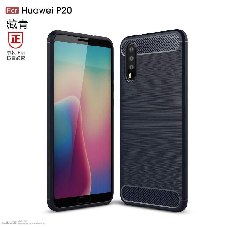 Huawei P20 Usung Triple Kamera, Begini Tampilannya