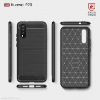Alleged Huawei P20 case renders