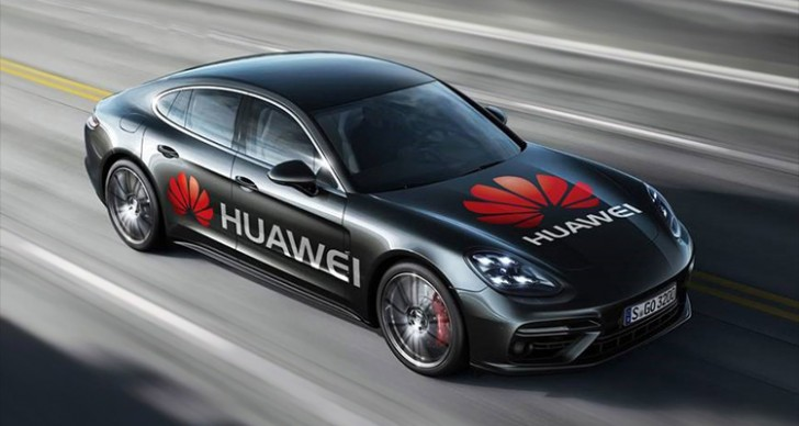 Huawei gets mobile with vehicle powered by AI smartphone