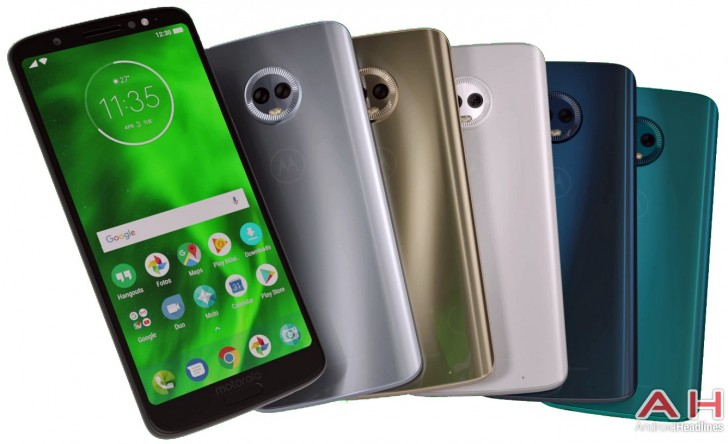 Moto G6 Play appears on Geekbench