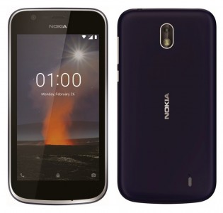Nokia 1 in Blue