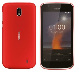 Nokia 1 in Red