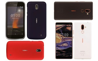 Nokia 7 Plus and Nokia 1 official images leak
