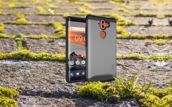 More Nokia 9 cases break cover, renders show off the curved sides of the screen
