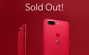 OnePlus 5T Lava Red officially sold out in North America