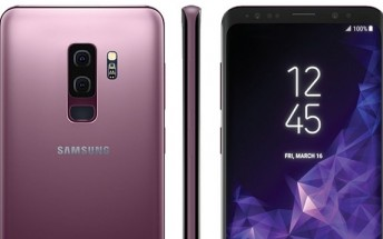 Samsung Galaxy S9 and S9+ in Lilac Purple get leaked press renders