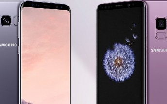 Samsung Galaxy S8 vs. the Galaxy S9: Specs Infographic