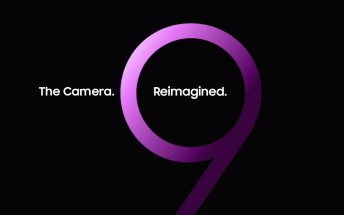 Samsung teases reimagined camera on the Galaxy S9
