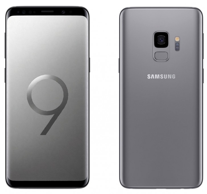 Samsung Galaxy S9 parades in all its glory