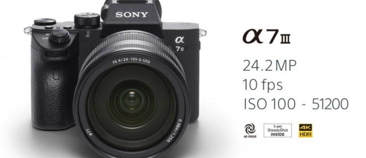 Sony announces A7 III full-frame mirrorless camera - GSMArena.com news