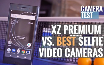 Sony Xperia XZ Premium vs. The 7 Best Front Phone Cameras for Selfie Videos