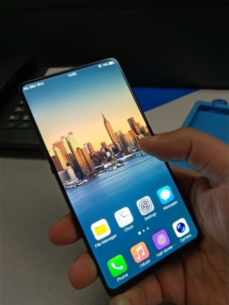 New image of bezel-less vivo pops up