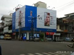 vivo V9 billboard in Indonesia