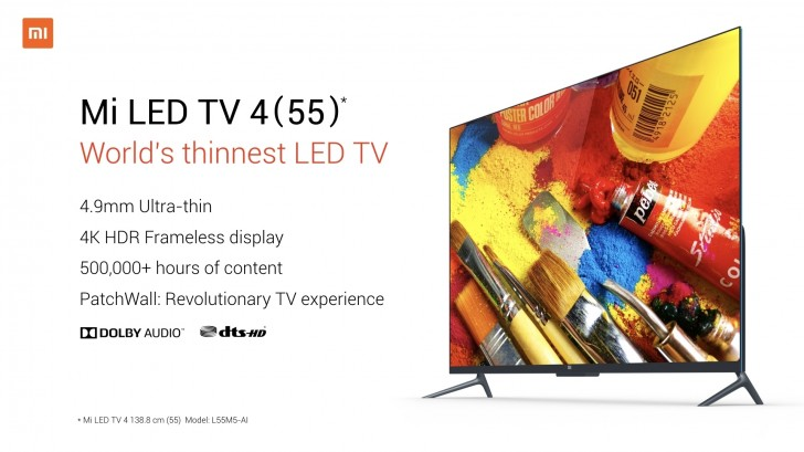 Image result for Xiaomi Mi LED TV 4