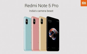 Xiaomi Redmi Note 5 and Redmi Note 5 Pro specs leak in full