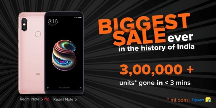 Xiaomi sells out Redmi Note 5 Pro in seconds