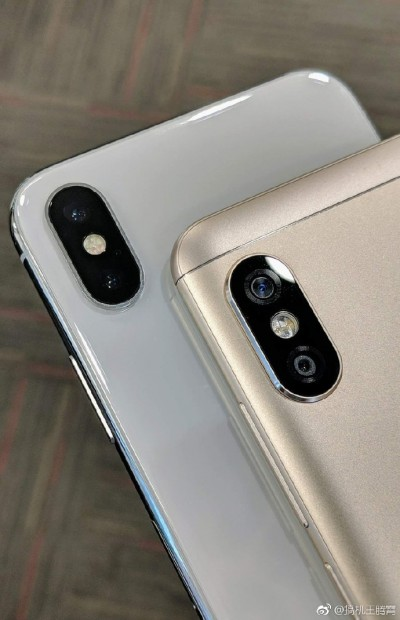 buy popular aa897 4dcb3 First live photo of Redmi Note 5 Pro reveals iPhone X-like camera ...