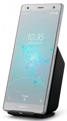 Sony Xperia XZ2 charging wirelesly