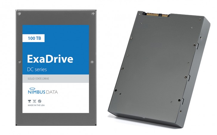 Nimbus Data unveils the world's largest SSD: 100TB of flash storage