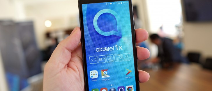 alcatel's Android Go phone – the 1X - is hitting the US - GSMArena