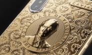 Caviar celebrates Putin's reelection with new golden iPhone X