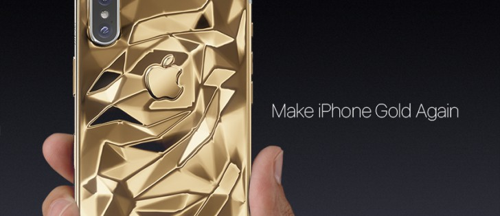 Caviar will sell you a gold iPhone X if you have a spare $4,510 lying around