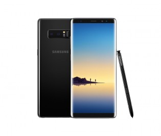 Samsung Galaxy Note8 in Midnight Black