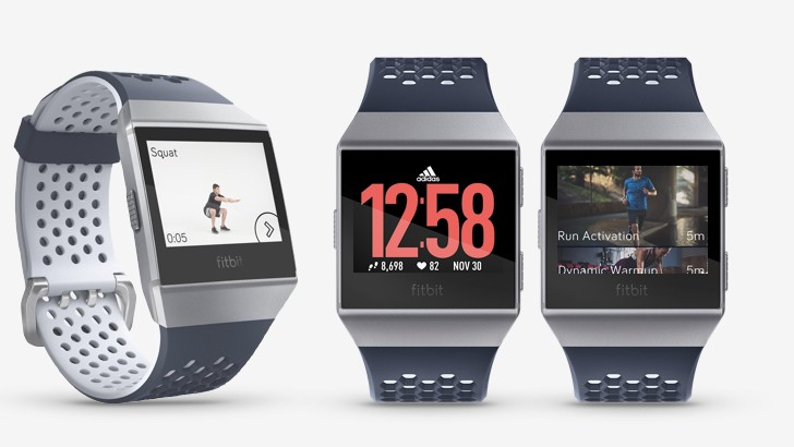 Image result for fitbit ionic adidas edition