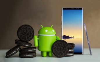 Samsung Galaxy Note8 phones on Verizon and Sprint are receiving Oreo