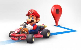Mario drifts into Google Maps for a week in celebration of Mario day