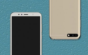 Huawei Honor 7A leaks with a tall screen and dual camera, short on CPU power