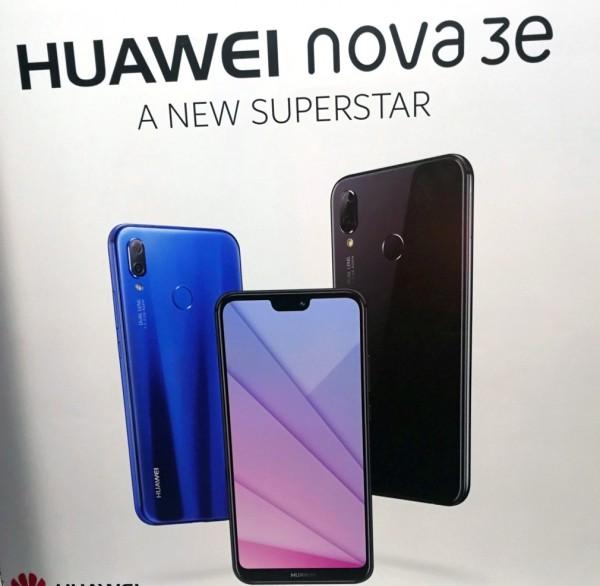Poster confirms the Huawei Nova 3e is the P20 Lite's ...