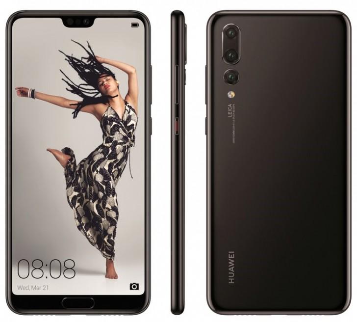 Huawei p20 p20 lite and p20 pro press renders leak gsmarena news huawei p20 pro stopboris Gallery