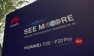 See Huawei P20 venue, Porsche Design Mate RS spotted
