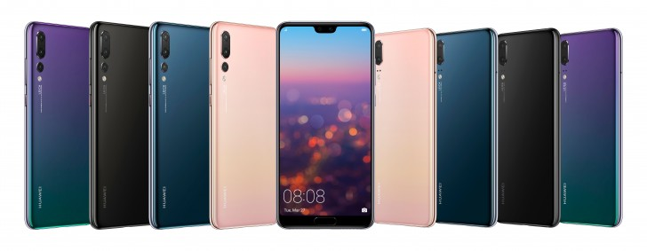 Huawei P20 debuts with notched screen, P20 Pro adds Leica Triple Camera