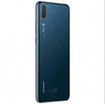 Huawei P20: black, blue, and pink-gold