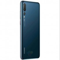 Huawei P20 Pro: black, blue, and \