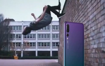Huawei P20 video teases slow-mo recording