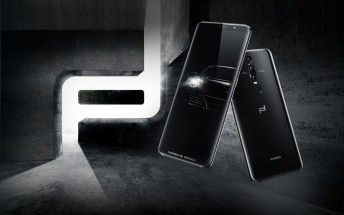Huawei Porsche Design Mate RS has two fingerprint readers, no notch