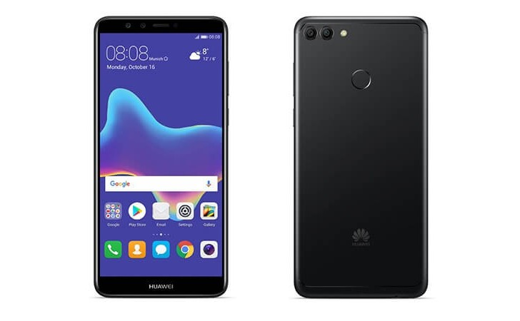 Huawei Y9 (2018) announced with 18:9 display and four cameras