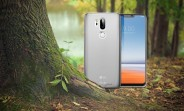 Olixar case renders show the LG G7, notch and all